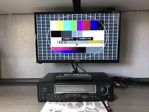 Philips VR 686 HiFi VHS Videorecorder mit Fernbedienung und BDA