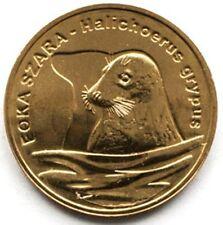 """Grey seal/"""" UNC Poland 2007-2 zlotych /""""World Animals Series"""