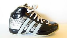 Adidas Black With Metalic Silver Sneakers Size 12K (kids)