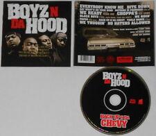 Boyz n Da Hood  Ice Cube  Back Up n Da Chevy  U.S. cd. Gold DJ Stamp