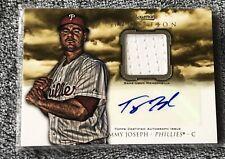Tommy Joseph 2013 Bowman Inception Auto Relic AR-TJ Philadelphia Phillies