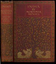 Mortimer Menpes, Flora Annie Steel / India 1912 Reprint