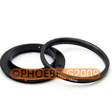 62mm 58mm Macro Reverse Adapter Ring for Nikon AF Mount