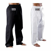 TurnerMAX Karate Pants Taekwondo Martial Arts Kung fu Trousers (110-200cm)
