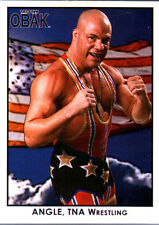 TNA Kurt Angle #96 OBAK Retro Card Short Print LE /600 2010 Tristar New Era FD