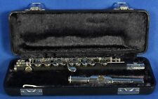 Jupiter JPC-1000 Silver Plated Head Piccolo Woodwind Band Instrument w/Case