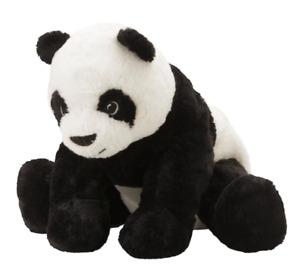 Ikea KRAMIG Soft toy, white, black new