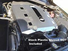Camaro 2010-2015 V6 10 Pc Polished Stainless ENGINE SHROUD ACCENT COVERS chrome