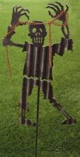Garden Lawn Yard Decoration Halloween Zombie chains metal pick stake NEW 27 tall
