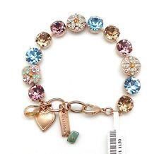 MARIANA Friendship Swarovski Rose Gold Bracelet Amethyst & Aqua Mosaic 1150