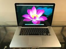 Apple MacBook Pro 15 Quad Core i7 PRE-RETINA UPGRADED 16GB RAM 1TB SSD WARRANTY