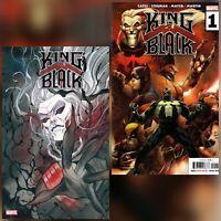 KING IN BLACK #1 Peach Momoko Variant and The Thing Secret Variant Bundle
