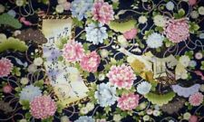 Flowers & Plants Quilting Craft Fabric Panels