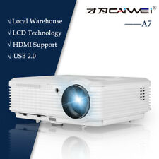 4500lms 7500:1 LED LCD Home Cinema Projector World Cup Sport USB HDMI HD 1080p