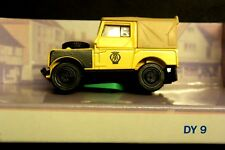 Matchbox The Dinky Collection, Car, 1949 Landrover, Yellow, DY9-B, New.