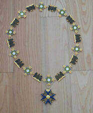 Prussian Order of the Black Eagle  with Collar chain Top
