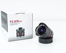 Samyang F 2,8 /  8mm Fish-Eye II schwarz Sony E-Mount, TOP Zustand