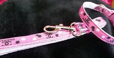 """XXX SMALL DOG LEAD to match 6""""-8"""" collar.  Micro dog, T Cup."""