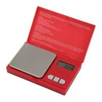 500G / 0.01g LCD Digital Pocket Scale Jewelry Gold Gram Balance Weight Scale
