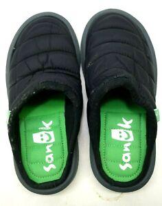 New Sanuk Womens Puff N Chill Nylon Puffer Casual Slip On Shoes Flats US 6 EU 37