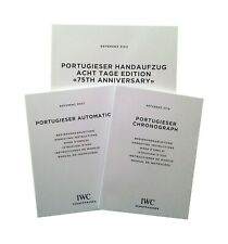 IWC Portugieser Instructions Manual Book Booklet 3714 5007 5102 3905 - Pick 1