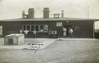 ORIGINAL- HAMBURG AIRPORT PRIMARILY USED for ZEPPELINS c1916 PHOTO POSTCARD RPPC