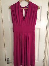 Ladies Wallis summer/evening dress size 12 cerise