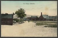 Postcard Walbottle nr Newcastle Upon Tyne early view of The Village