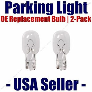 Parking Light Bulb 2-pack OE Replacement Fits Listed Dodge Vehicles - 916