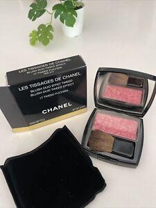 CHANEL LES TISSAGES DE CHANEL Blush Duo Tweed Effect | 17 TWEED Fushia
