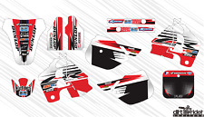 170815 HONDA CR 250 1988 DECALS STICKERS GRAPHICS KIT