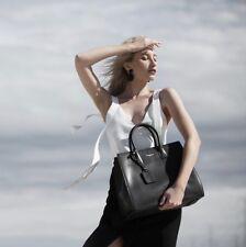 SALE WAS $349 - Anita Large Tote- Black- Womans Bag- Genuine Leather