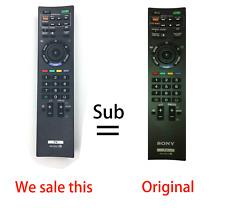 RM-GD014 Replace remote for Sony BRAVIA TV KDL-55HX700 46HX700 46EX500 40HX700