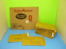 New Set of 20 Sealed Air Jiffy Padded #0 Cushioned Mailer 6x10  #85871 USA Ship