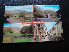 ROYAUME-UNI - carte postale 1983 around sedbergh (cy50) french