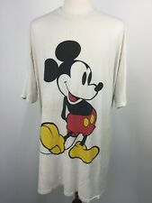 VTG 80s 90s Disney Designs Mickey Mouse Oversized Baggy T Shirt One Size OSFA