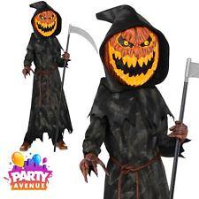 Teen Jack O Lantern Head Halloween Costume Fancy Dress Outfit Age 12-14 yrs