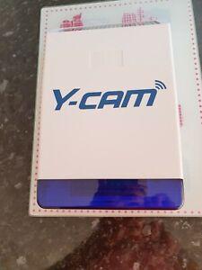 y-cam outdoor solar powered alarm siren