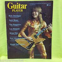 RICK DERRINGER GUITAR PLAYER MAGAZINE BRIAN MAY LEE RITENOUR JACK BRUCE '75 RARE