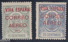 EMISIONES LOCALES PATRIOTICAS - BURGOS - * 56/57 - AÑO 1936