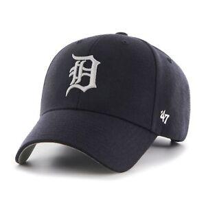 MLB Detroit Tigers Cap Basecap Baseballcap MVP 47 Brand navy Kappe 053838004092