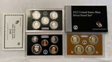 2012 S US Mint Silver Proof Set In Original With, C.O.A. - (14) Coins - Proof
