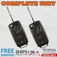 2 Keyless Entry Remote For 2004 2005 2006 2007 VW Volkswagen Touareg Car Key Fob