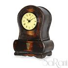 Reloj Antigua Madera Rojo oscuro De Tabla Números Romanos Vintage Clasico SARANI