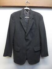 EUC J Crew Jacket Blazer Sport Coat Gray Herringbone 2 Button Made in Italy 38R