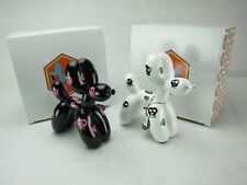 Balloon Dogs - Black and White finish/ Home decor/ Fine craft/ Perfect gift/