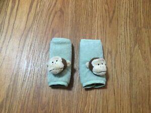 Monkey Animal Soft Harness Kids Car Seat Belt Strap Covers Shoulder Pads