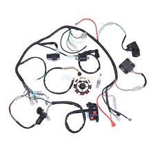 Complete Electrics ATV QUAD Wiring Harness Wire Loom 150 200CC 250CC Stator CDI
