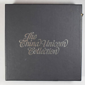 China 1997 Unicorn platinum and gold set box only BU0388 combine