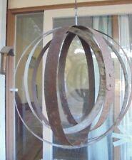 Vintage Rustic Wine Barrel Rings Garden Decoration Pot Hanger